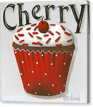 Cherry Celebration Canvas Print by Catherine Holman