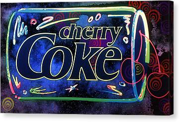Cherry Coke 2 Canvas Print by John Keaton