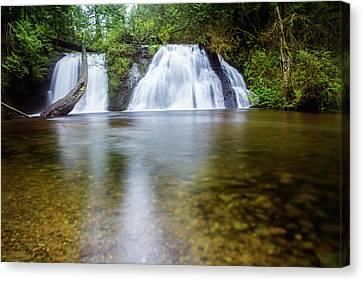 Beautiful Creek Canvas Print - Cherry Creek Falls by Pelo Blanco Photo