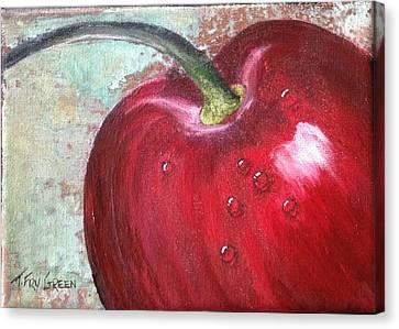 Sweet Cherry Canvas Print