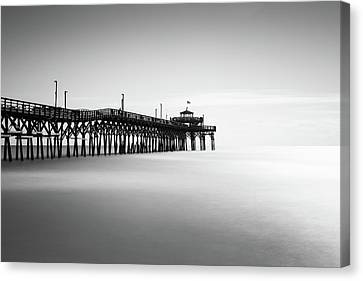 Cherry Grove Fishing Pier Canvas Print by Ivo Kerssemakers