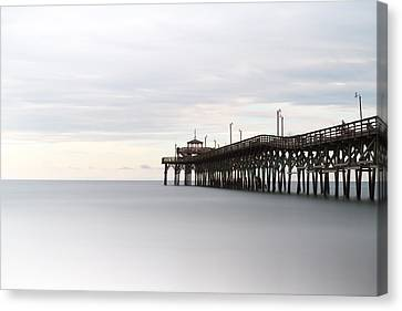 Cherry Grove Pier II Canvas Print by Ivo Kerssemakers