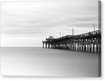 South Carolina Canvas Print - Cherry Grove Pier by Ivo Kerssemakers