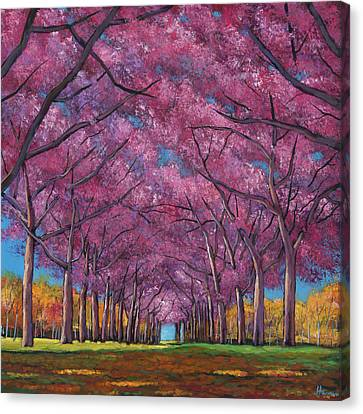 Canvas Print - Cherry Lane by Johnathan Harris