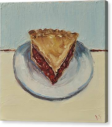 Cherry Pie Canvas Print by Lindsay Frost