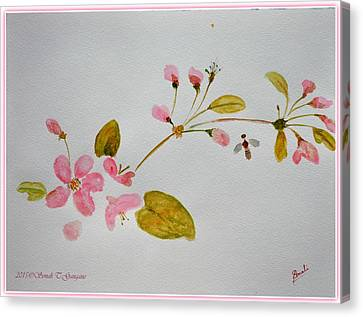 Cherry Pink Canvas Print