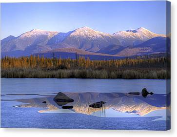 Cherry Pond Reflections Canvas Print