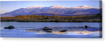 Cherry Pond Reflections Panorama Canvas Print