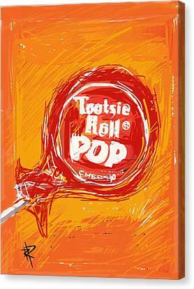 Cherry Pop Canvas Print