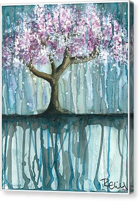Fruit Tree #2 Canvas Print by Rebecca Childs
