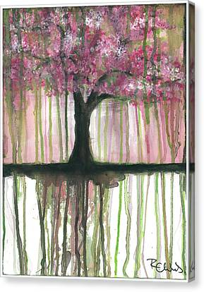 Fruit Tree #3 Canvas Print by Rebecca Childs