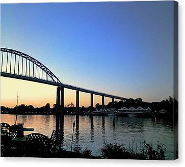 Chesapeake City Canvas Print