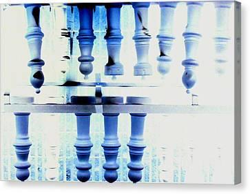Chess Anyone 2 Canvas Print by Cyryn Fyrcyd