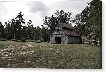 Barn Storm Canvas Print - Chesser-williams by 2141 Photography