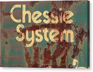 Chessy System Canvas Print by Kreddible Trout