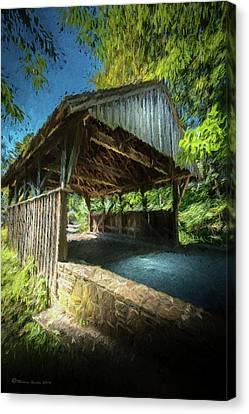 Chester Pennsylvania Bridge Canvas Print by Marvin Spates