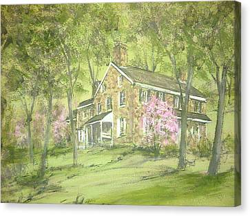 Chester Springs Canvas Print by David Bruce Michener
