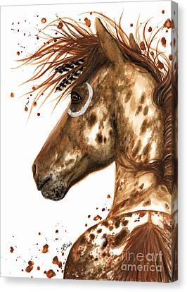 Appaloosa Horse Canvas Print by AmyLyn Bihrle