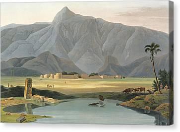 Chevalpettore Canvas Print by Thomas Daniell