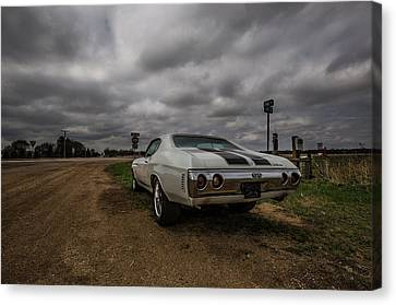 Canvas Print featuring the photograph Chevelle Ss by Aaron J Groen