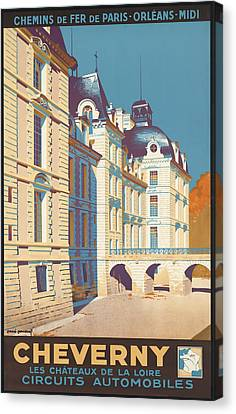 Cheverny Canvas Print by David Wagner