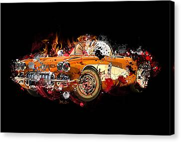 Chevrolet 2 Canvas Print by Mark Ashkenazi