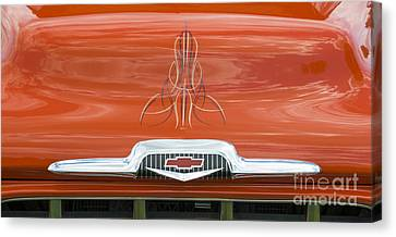 Chevrolet 30-1956 Hydramatic 3100 Canvas Print