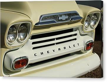 Chevrolet Apache 31 Fleetline Front End Canvas Print