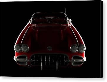 Chevrolet Corvette C1 - Front View Canvas Print