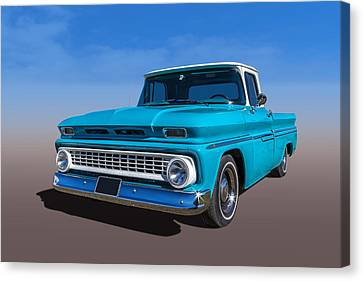 Chevrolet Pickup Canvas Print by Keith Hawley
