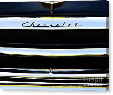 Chevrolet Styleline Abstract Canvas Print
