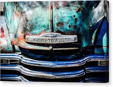 Chevrolet Truck Grille Emblem -0839c1 Canvas Print