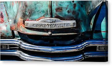 Chevrolet Truck Grille Emblem -0839c2 Canvas Print