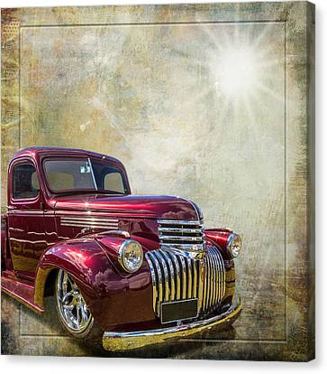 Chevy Beauty Canvas Print by Keith Hawley