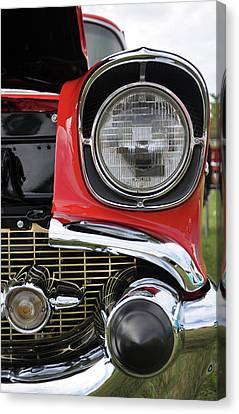 Canvas Print featuring the photograph Chevy Bel Air by Glenn Gordon