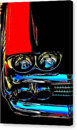 Chevy Canvas Print by Gwyn Newcombe