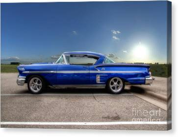 Chevy Impala Canvas Print