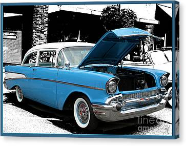 Canvas Print featuring the photograph Chevy Love by Victoria Harrington