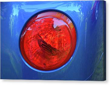 Chevy Ssr Tail Light Canvas Print by Mike Martin