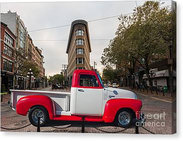 Chevy Truck Canvas Print by Jim  Hatch