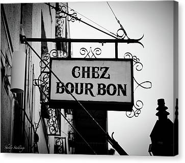 Chez Bourbon  Canvas Print by Shelly Stallings