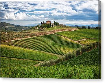 Chianti Landscape Canvas Print by Eggers Photography