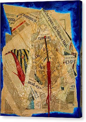 Chiarlie Canvas Print by Federico Biancotti