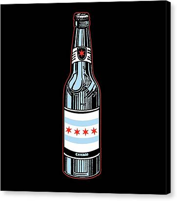 Chicago Beer Canvas Print