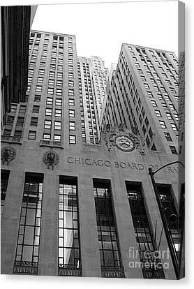 Chicago Board Of Trade Canvas Print by David Bearden
