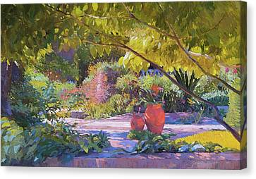 Chicago Botanic Garden Canvas Print
