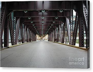 Chicago Bridges Canvas Print