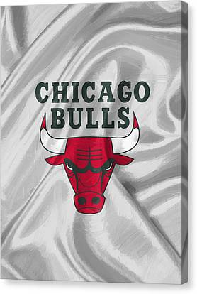 Chicago Bulls Canvas Print by Afterdarkness