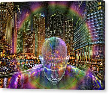 Canvas Print - Chicago-city Of Big Shoulders by Michael Durst