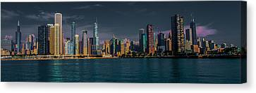Chicago Cityscape Canvas Print